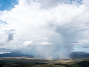 Thunderstorm over Ngorongoro Crater, Tanzania